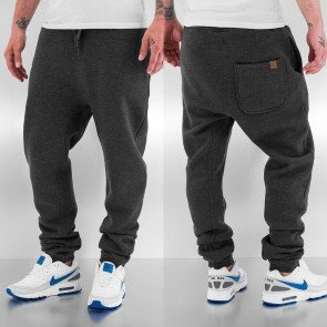 Tepláky Just Rhyse Rasco Sweat Pant Charcoal Melange