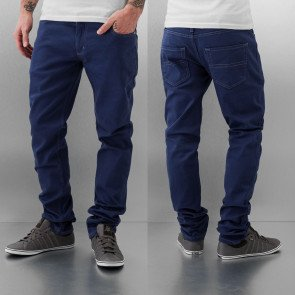 Nohavice Just Rhyse Cool Skinny Pants Indigo Melange