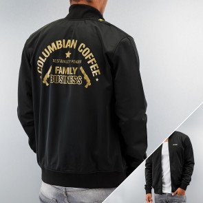 Bunda Dangerous DNGRS Columbian Coffee Track Jacket Black/gold