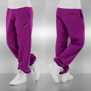 Tepláky Just Rhyse Women Basic Sweat Pants Purple