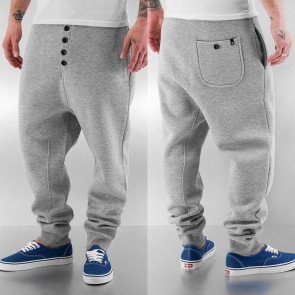 Tepláky Dangerous DNGRS And Friends Boom Sweat Pants Grey Melange