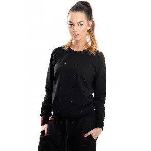Crewneck Endorfina Crystal Black