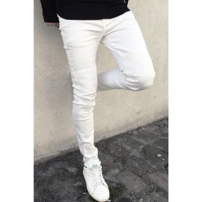 Jeans Sixth June Biker White