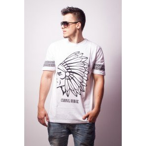 Tričko Criminal Damage T-Shirt Tomahawk White