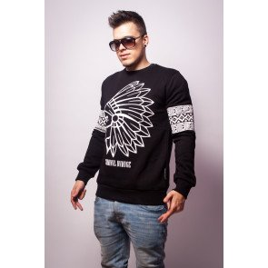 Crewneck Criminal Damage Sweat Tomahawk Black