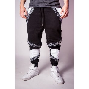 Tepláky Criminal Damage Joggers Downtown Black