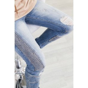 Jeans Sixth June Biker Blue