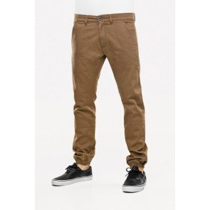 Nohavice Reell Jogger Pant Cappuccino Dark Sand