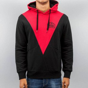 Mikina Just Rhyse Triangle Red Black