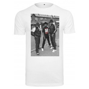 Tričko Urban Classics Run Dmc Kings Of Rock T-Shirt White