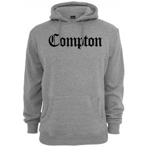 Mikina Urban Classics Compton Heather Grey Black