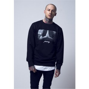 Crewneck Pray Mister Tee Black