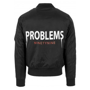 Bunda Urban Classics 99 Problems Jacket Black