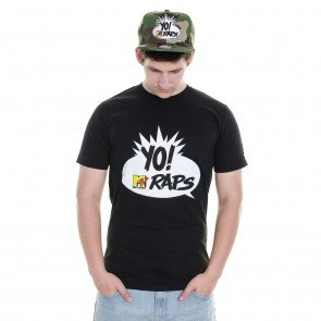Tričko Starter MTV Yo Raps Icon Black