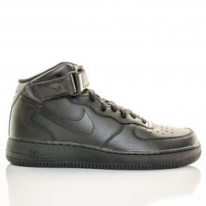 Nike Air Force 1 Mid Pánske Black Black