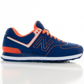 Tenisky New Balance Ml574Nel Classics Traditionnels Blue Orange