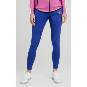 SikSilk Athlete Track Pants – Blue