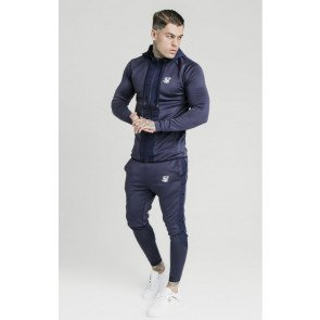 SikSilk tracksuits Creased Nylon Navy
