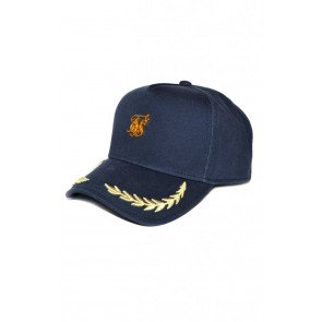 SikSilk Washed Cotton Trucker - Navy OFS_NS