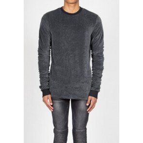 Crewneck Sixth June Dark Grey Velvet