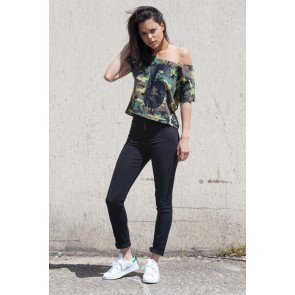 "Crop top Sixth June ""6"" Camouflage Green realphotonhs"