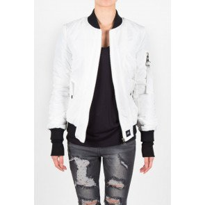 Bunda Sixth June Parisiennes Bomber White