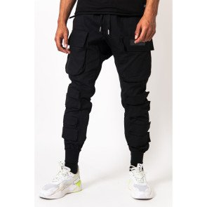 Sixth June large tactical cargo pants black