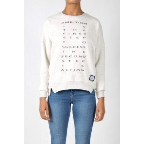 Crewneck Sixth June Ambition White