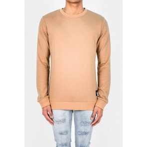 Crewneck Sixth June Drunk And Loaded Camel