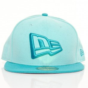 Snapback Fitted Cap New Era 59 Fifty 2 Blue