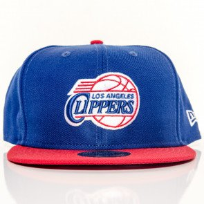 Snapback Fitted Cap New Era Los Angeles Clippers Blue Red
