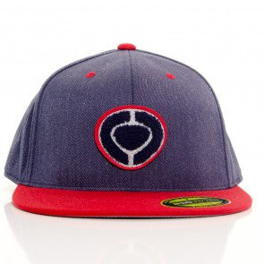 Snapback C1Rca Slab Icon 210 Fitted Cap Denim Red