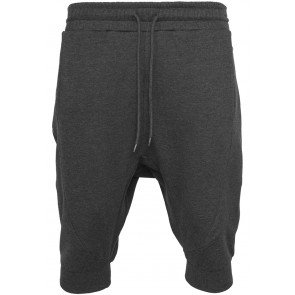 Kraťasy Deep Crotch Undefined Sweatshorts Charcoal