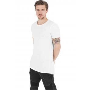 Tričko Urban Classics Long Shaped Tee White