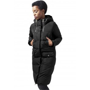 Bunda Urban Classics Ladies Bubble Coat Black