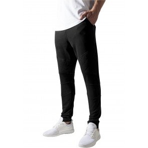 Tepláky Urban Classics Diamond Stitched Pants Black