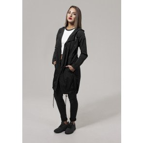 Bunda Urban Classics Ladies Asymetric Parka Black