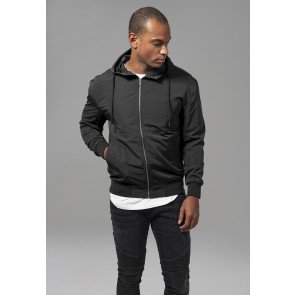 Bunda Urban Classics Nylon Windbreaker Black
