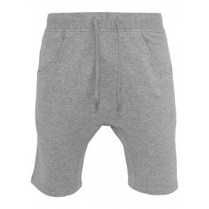 Kraťasy Urban Classics Light Deep Crotch Sweatshorts Grey