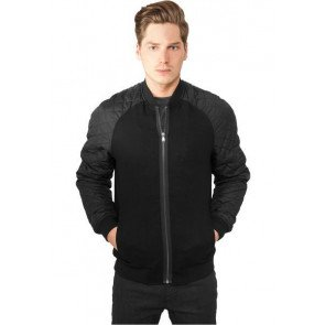 URBAN CLASSICS DIAMOND NYLON WOOL JACKET