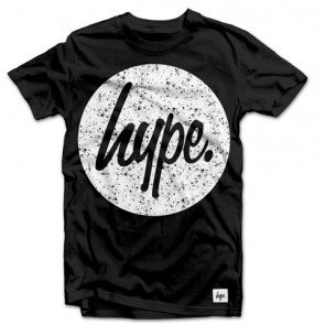 Tričko Hype Pollock Splat Circle Black