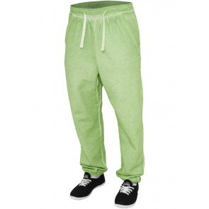 Tepláky Ladies Spray Dye Sweatpant Mint