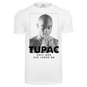 Tričko Mister Tee 2Pac Prayer White