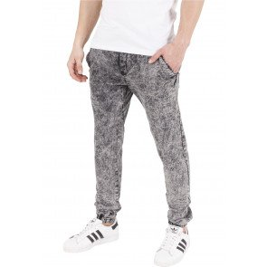 Nohavice Urban Classics Stretch Jogging Grey