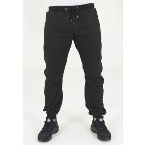 Nohavice Urban Classics Twill Jogging Pants Black