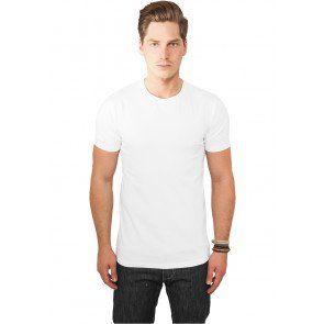 Tričko Urban Classics Fitted Stretch Tee White
