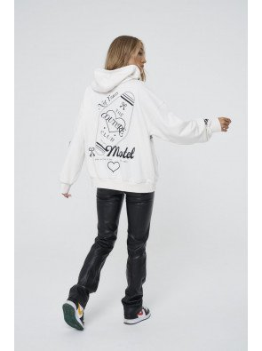 NOT YOURS GRAPHIC OVERSIZED HOODIE