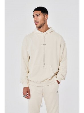 ESSENTIALS OVERSIZED FIT WASHED HOODIE