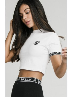 CROPTOP SIKSILK - WHITE