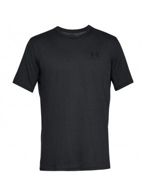 Under Armour Sportstyle Left Chest Black